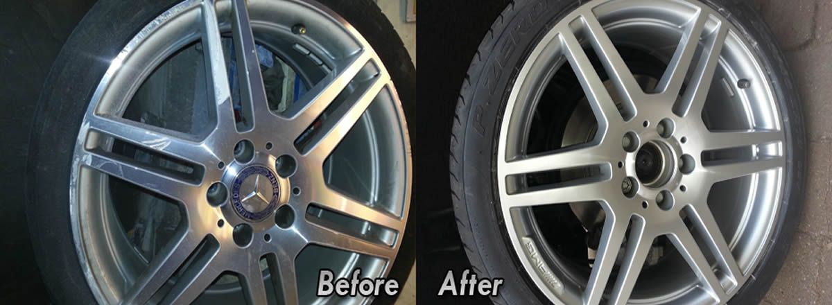 alloy wheel repair Bowden